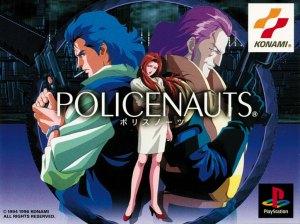 Policenauts - capa versão ps